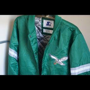 Vintage Eagles Starter Jacket